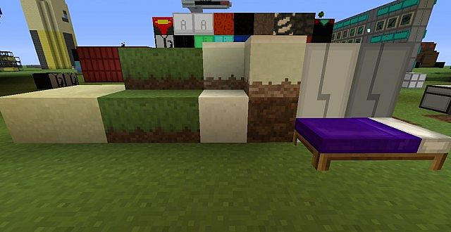 Grass, Sand, Snow, Dirt, Doors, and Bed