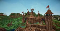 Medieval Keep {download link & project In progress} Minecraft Map & Project