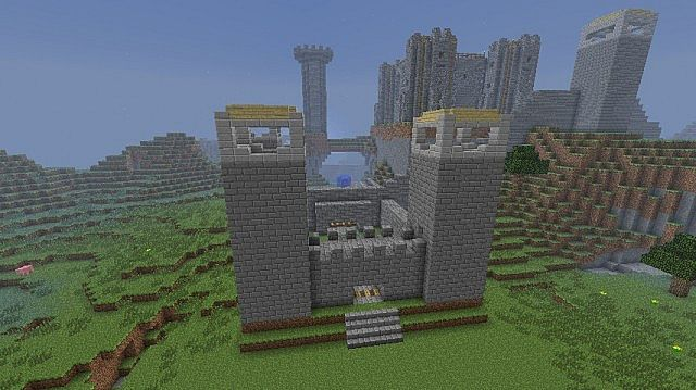 Huge Minecraft Kingdom Minecraft Project