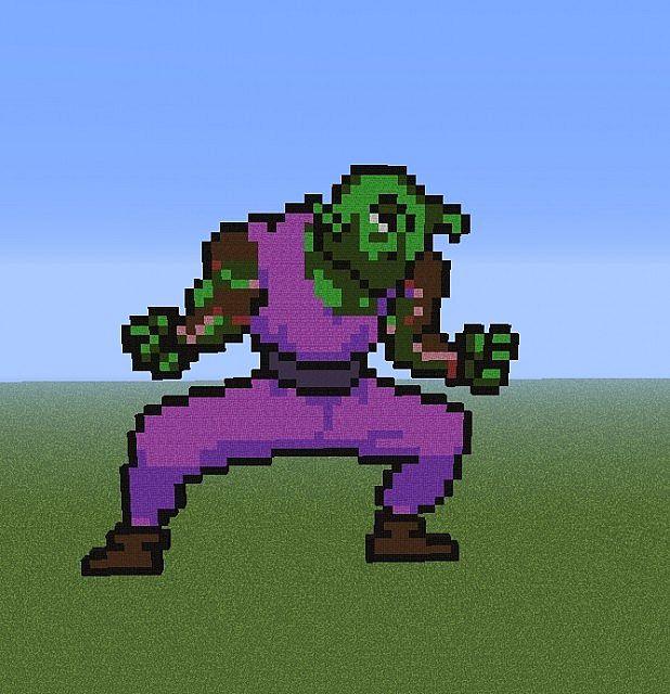 Piccolo (Dragon Ball) Minecraft Project