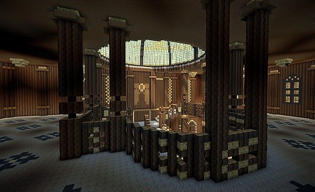 Titanic Grand Staircase Minecraft Project