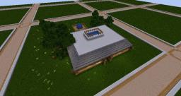 nice piston door house from PauleHD competition Minecraft Map & Project