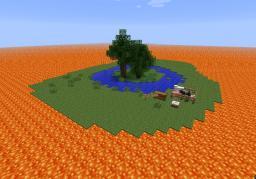Lava Survival Island Minecraft Project
