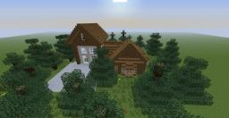 Casa na Floresta Minecraft Map & Project