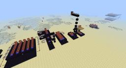 Atomo's TNT cannons (with MC World Record range at 215 blocks!) Minecraft Map & Project