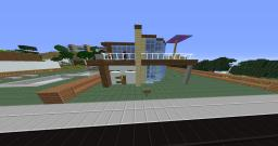 inspration-modern house Minecraft Map & Project