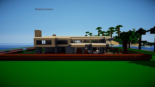 Modern architect minecraft texture pack for Minecraft modern house download 1 8