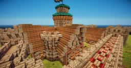Medieval castle village
