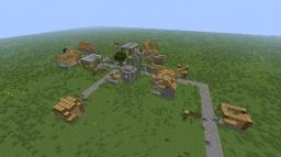 Village Ruins Survival Minecraft Map & Project