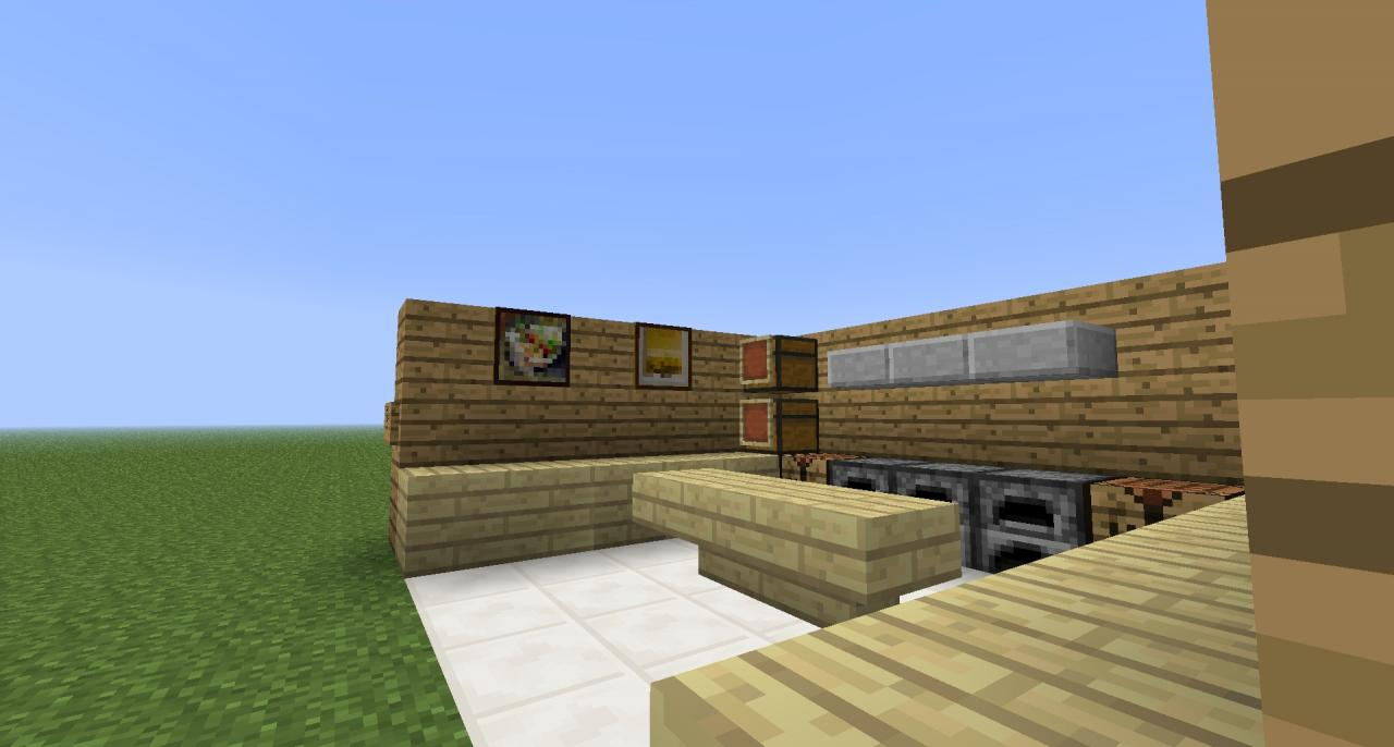 Kitchen designs minecraft project for Kitchen ideas minecraft