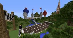 Sprint Race Around the World Minecraft Map & Project