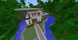Moden house Minecraft Map & Project