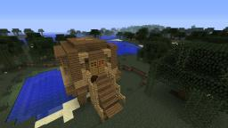 Head Witch's Hut Minecraft Map & Project