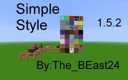 Simple Style v 3.0 For 16.2 Minecraft Texture Pack