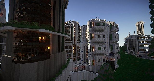 Teweran Survival Games Futuristic City Minecraft Project - Minecraft city spiele