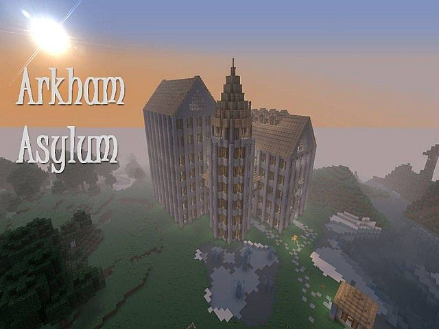 Arkham Asylum (New Download) Minecraft Project