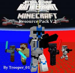 Star Wars Battlefront 2 Resource Pack v2.5 Minecraft