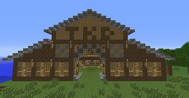 Barn Minecraft Project