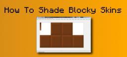 Blocky Skin Shading Tutorial Minecraft Blog