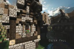 Ester Fall: The Medieval Village Minecraft Project