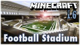 Football (Soccer) Stadium Minecraft Map & Project