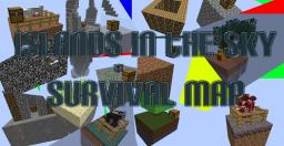 Islands In The Sky Survival Map Minecraft Project