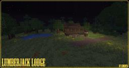 Simple Lumberjack Lodge Minecraft Map & Project