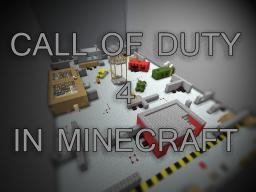 Call Of Duty 4 in Minecraft [VERY FUN MINIGAME!!!] Minecraft Map & Project