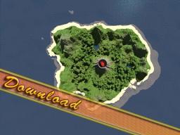 Small Tropical, Volcano, Survival Island !