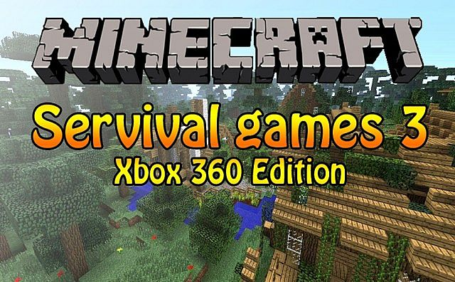 minecraft xbox360 the survival games 3 minecraft project