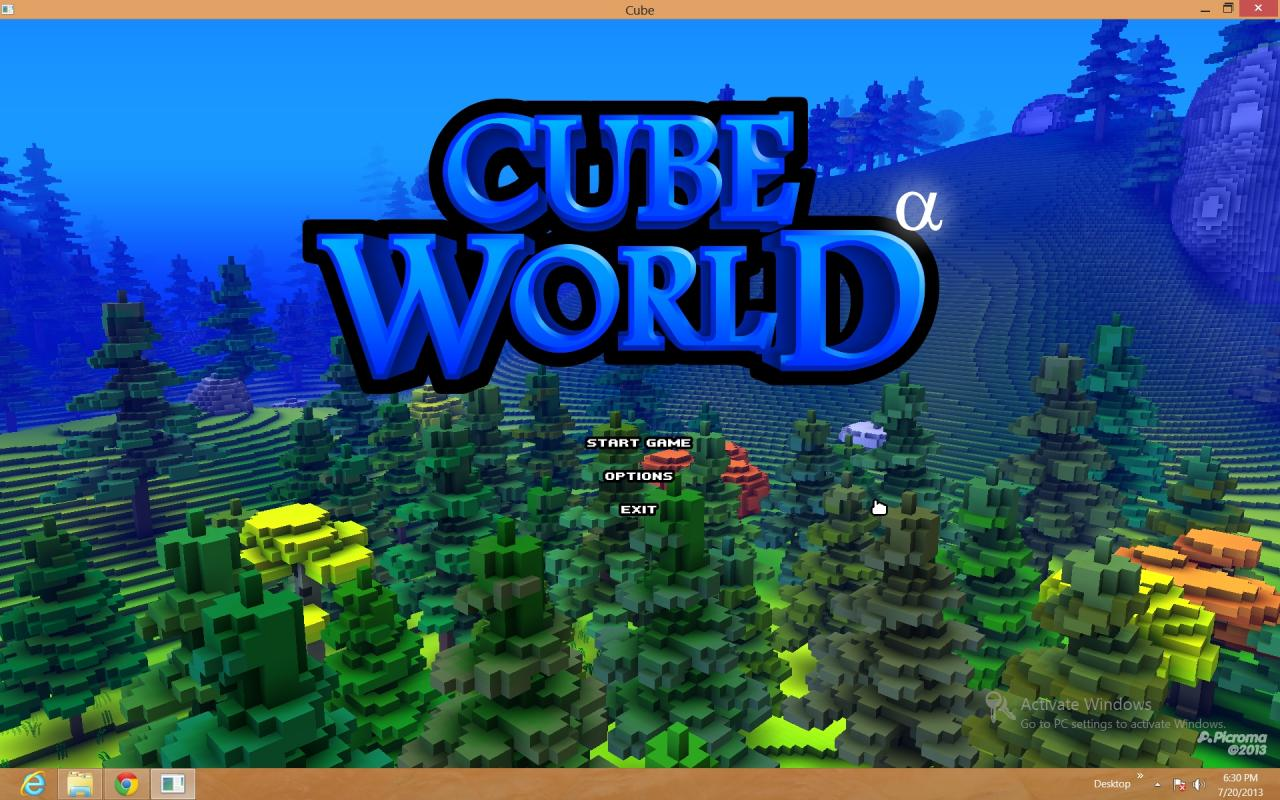 Cube World vs. Minecraft Minecraft Blog