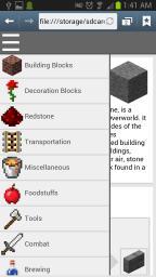Minecraft Wiki App Minecraft Mod