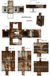 Silent Hill Iron Golem PaperCraft Minecraft Blog
