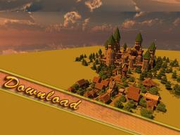Modern Medieval Castle, The Dark Pinnacle! Minecraft