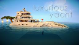 Luxurious Yacht Minecraft Project