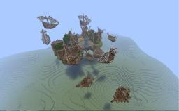 Air Village + cinematic Minecraft