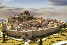 The Greek City of Amphipolis Minecraft Project