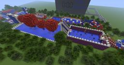 minecraft WIPEOUT Minecraft Map & Project