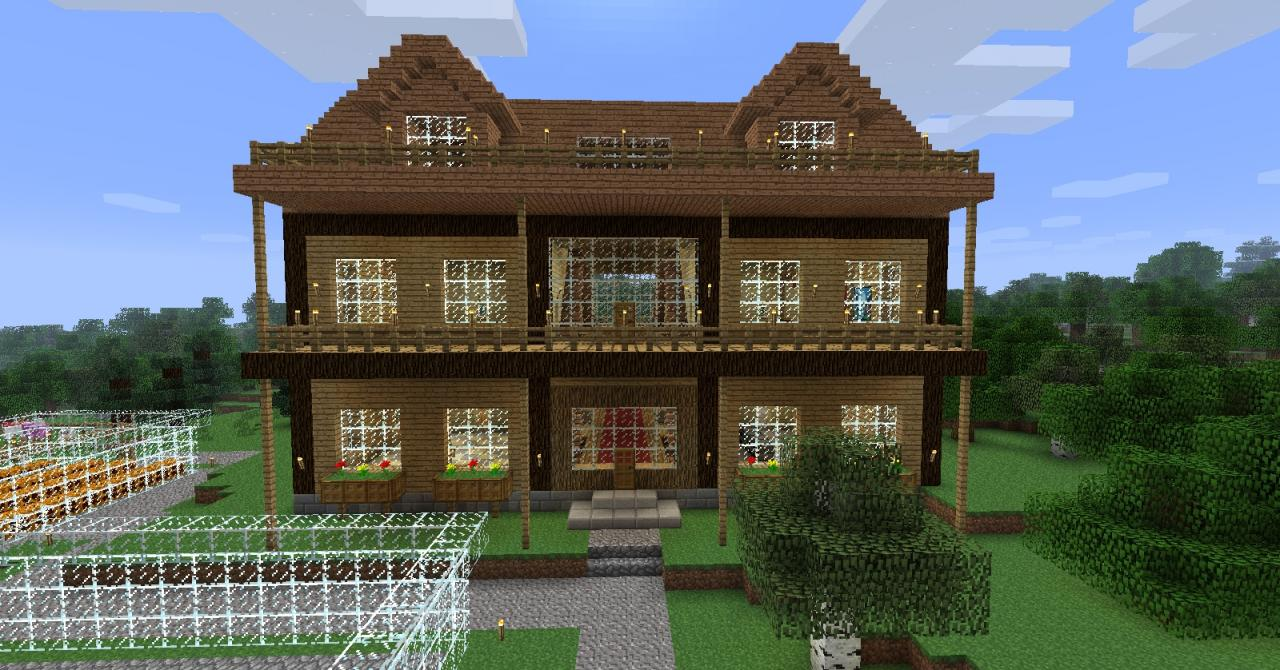 how to make minecraft houses look good