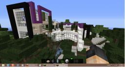 Modern Hilltop Minecraft Map & Project