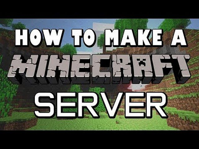 how to create professional minecraft server