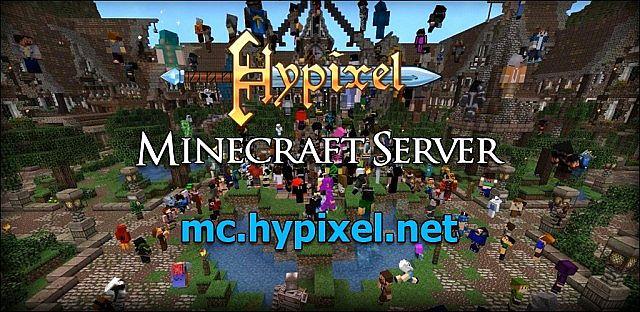 Hypixel MiniGames And Adventures Server Minecraft Server - Minecraft ingame spiele