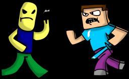 Roblox vs. Minecraft [600 VIEWS!]