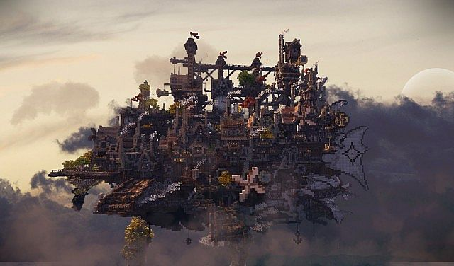 CloudHaven ~ The Floating City Minecraft Project