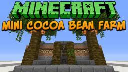 Minecraft: Mini Cocoa Bean Farm Tutorial Minecraft Project