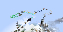 Extrem Sky Parcours Minecraft Map & Project