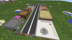 Street of Discord v1.1 (Multiplayer PvP/RP game) Minecraft Map & Project