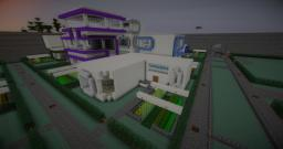 White Cube3 Concept House Minecraft Map & Project