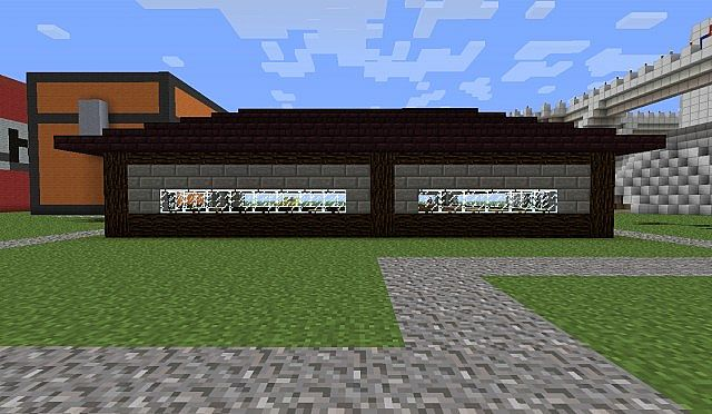 how to make a normal house in minecraft