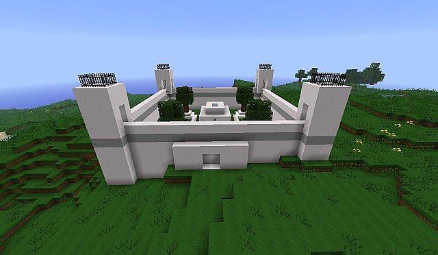 Modern bunker minecraft project for Minecraft moderno